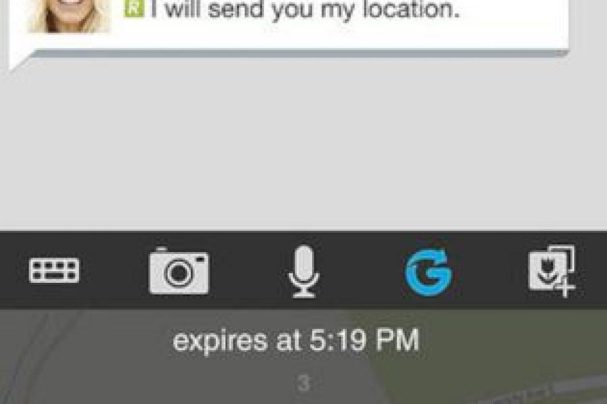 La app permite enviar sonido. Foto:BBM. Imagen Por: