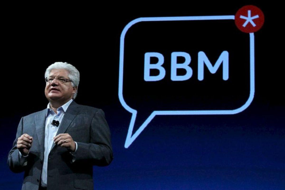 En el lanzamiento de BBM. Foto:getty images. Imagen Por: