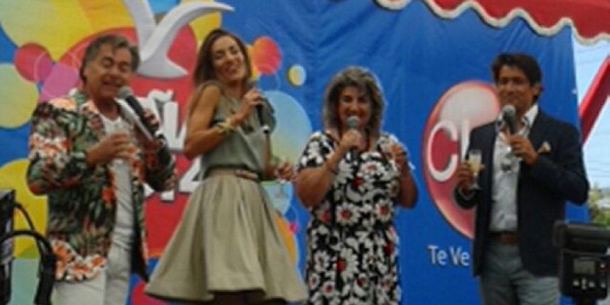 Animadores del Festival de Viña 2014 participaron de la Gala Vecinal