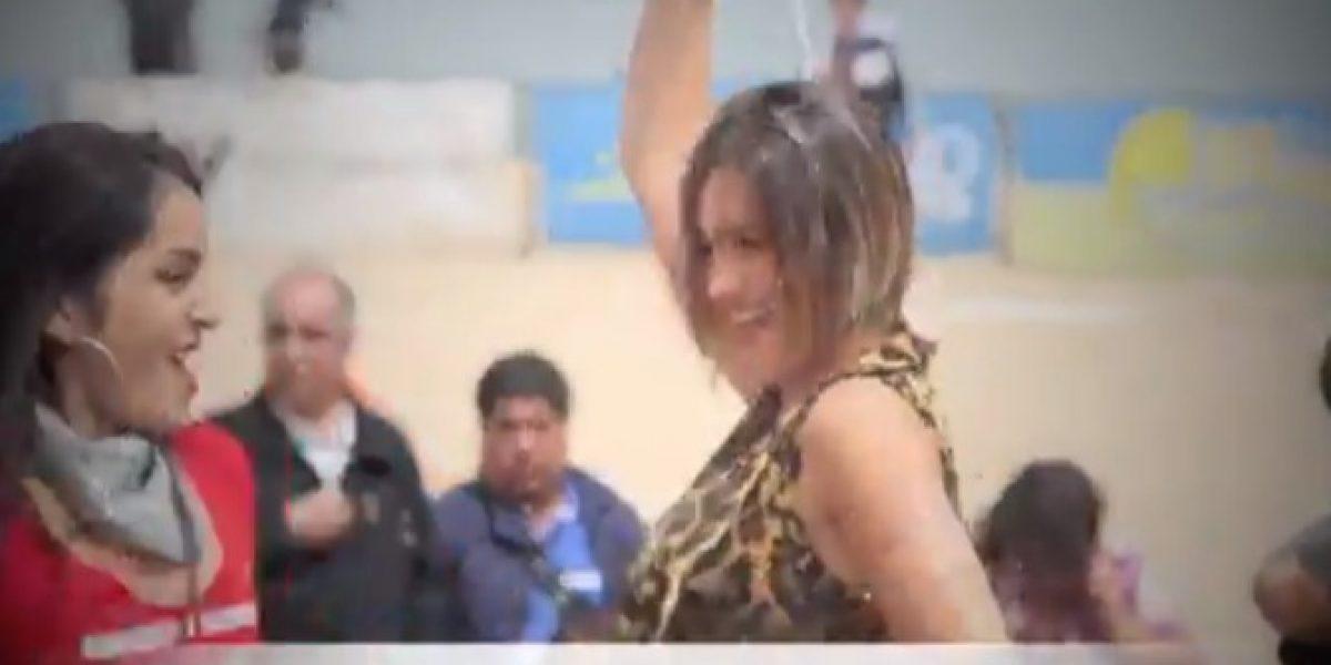 Video: Candidatas a Reina del Festival se la jugaron en el lanzamiento de su candidatura