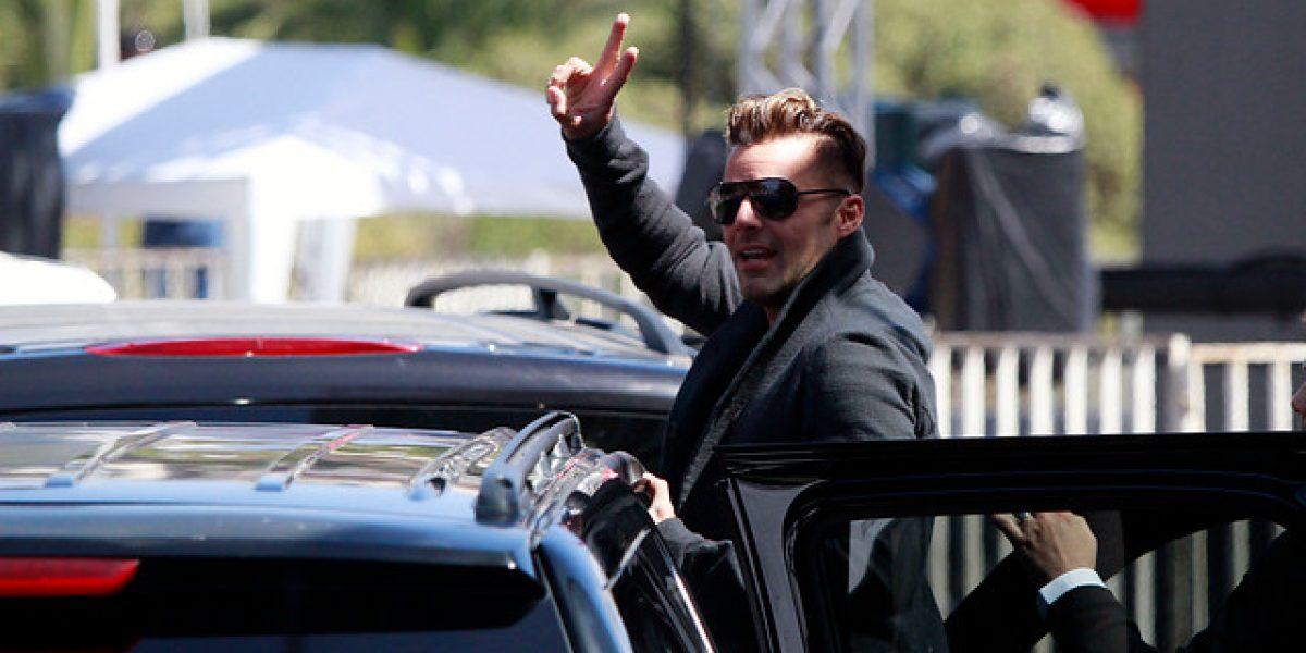 Así se prepara Ricky Martin para el Festival de Viña 2014