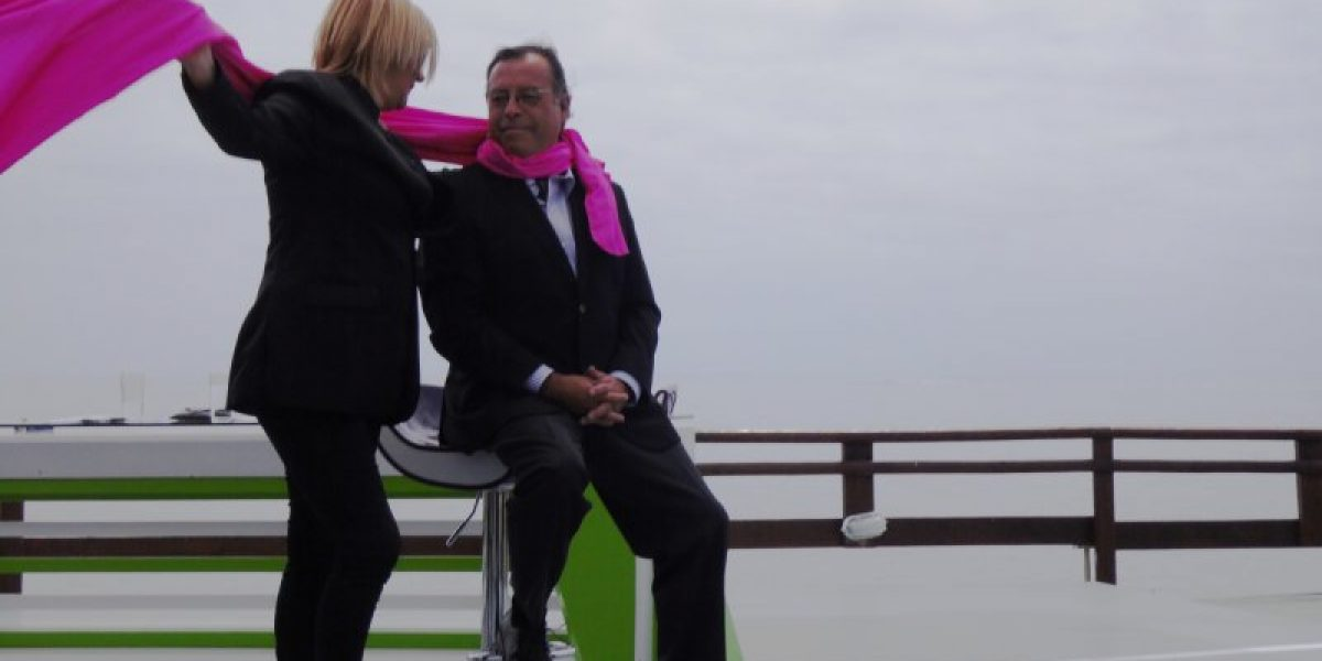 El apasionado beso de Pamela Jiles y Pablo Maltés en Intrusos