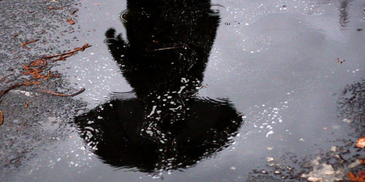 Anuncian precipitaciones para este lunes en la Región Metropolitana