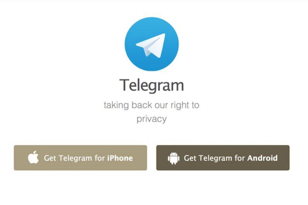 Telegram ha crecido como la espuma. Foto:Telegram LLC. Imagen Por: