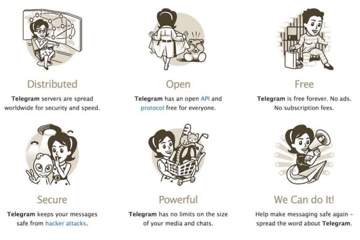 Dicen que la información del usuario es completamente segura. Foto:Telegram LLC. Imagen Por: