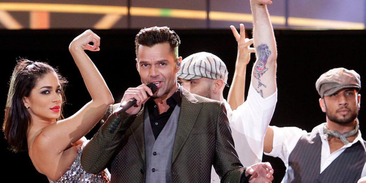 Famosos alabaron show de Ricky Martin en Twitter