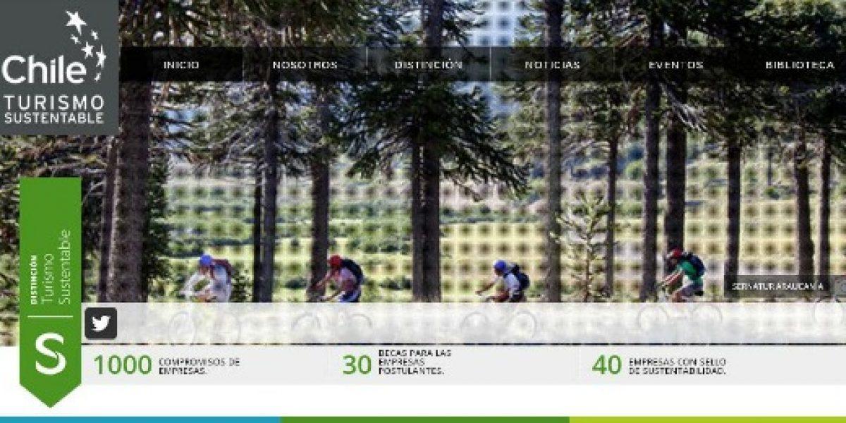 Sello de sustentabilidad turística de Chile es reconocido por entidad internacional
