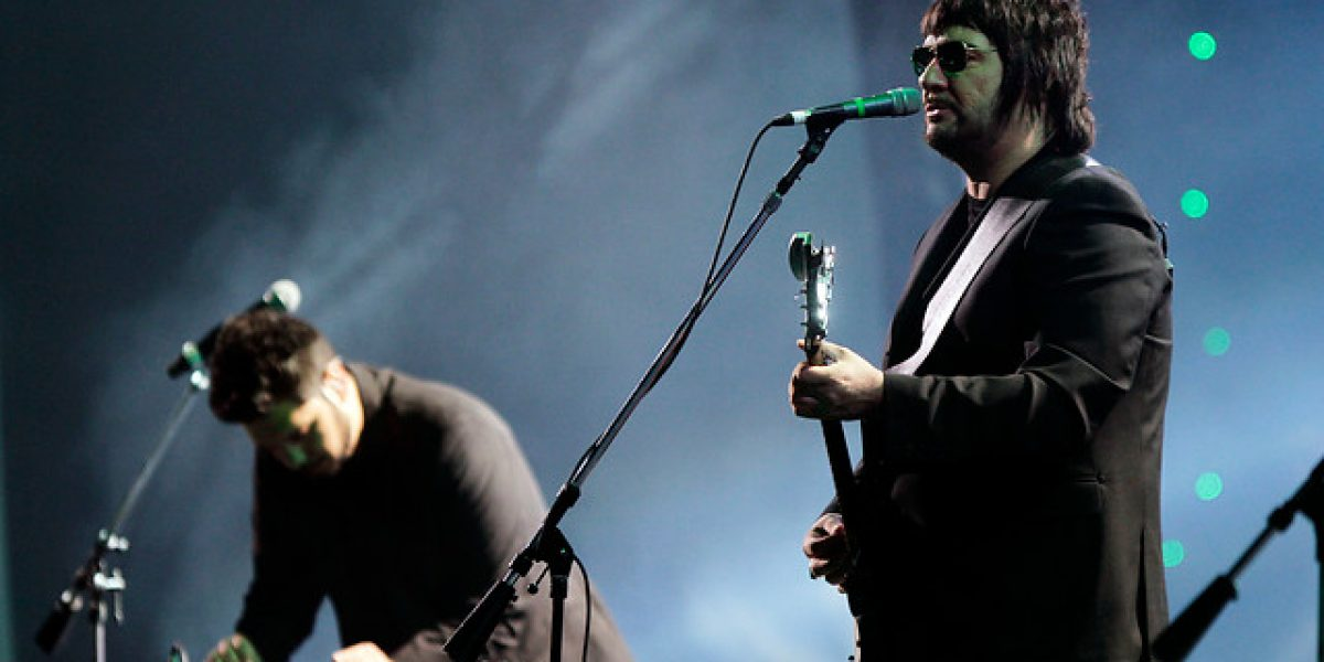 El rock de Los Tres cerró la noche inaugural del Festival de Viña 2014