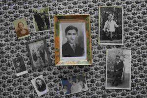 Fotos de dos sobrevivientes del Holocausto naturalizados estadounidenses en exposición en Nueva York Foto:Getty Images. Imagen Por: