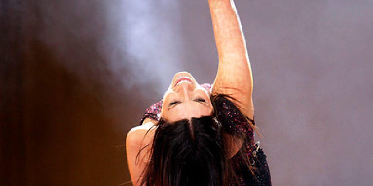 Laura Pausini enamoró y triunfó en la Quinta Vergara