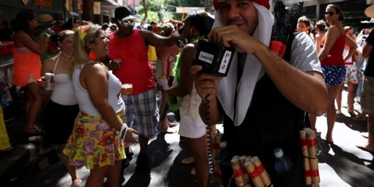La policía brasileña califica al carnaval como la