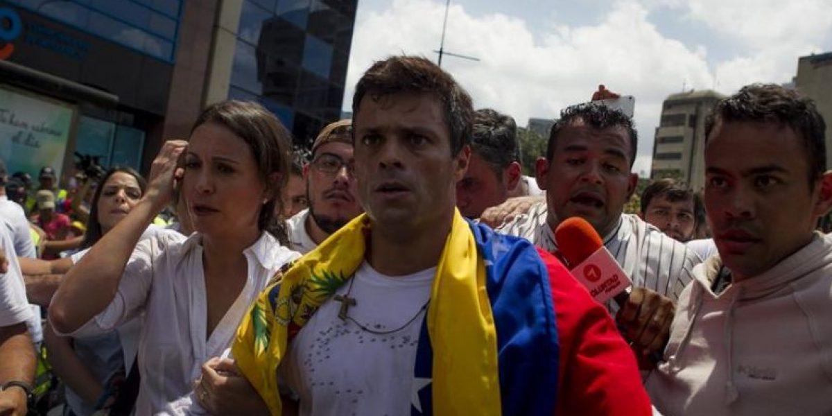 Leopoldo López pide al papa