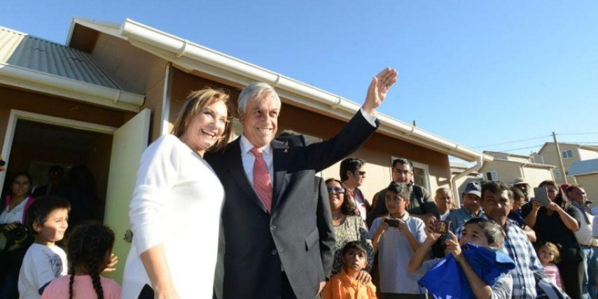 Presidente Piñera defendió cifras de la reconstrucción ante críticas
