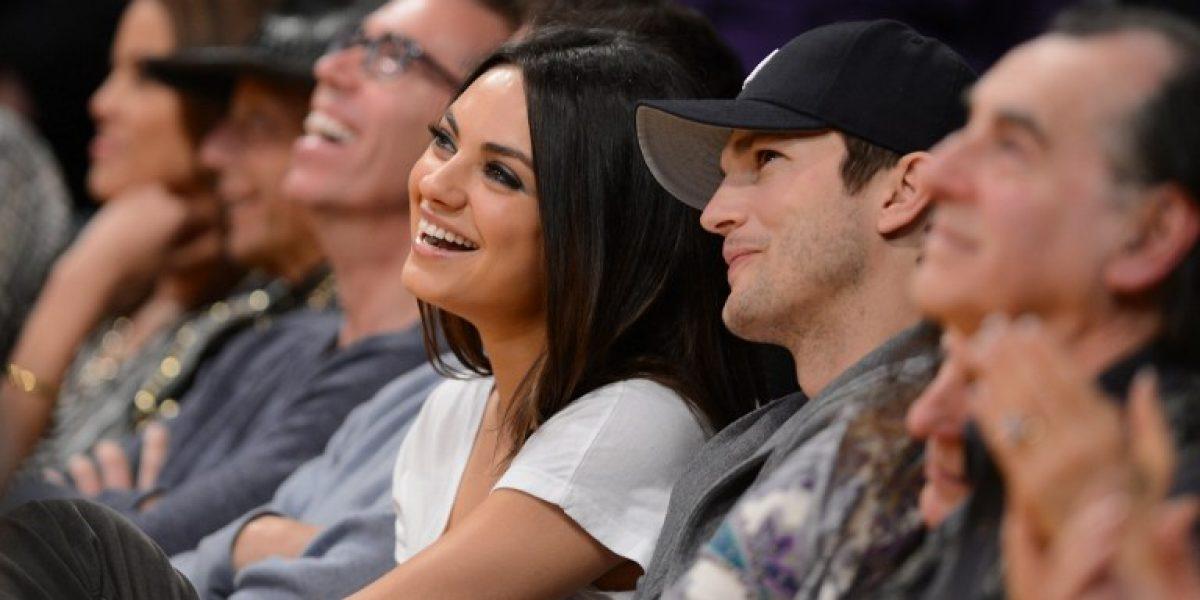 Ashton Kutcher y Mila Kunis se comprometieron