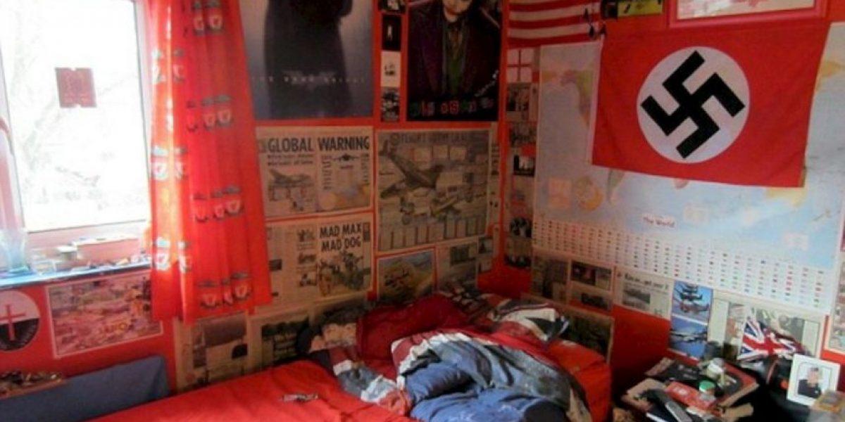 la impresionante habitaci n del joven que planeaba masacre