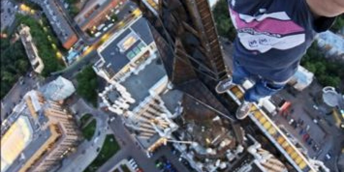 Kirill Oreshkin, el Spider-Man ruso que hace selfies extremos