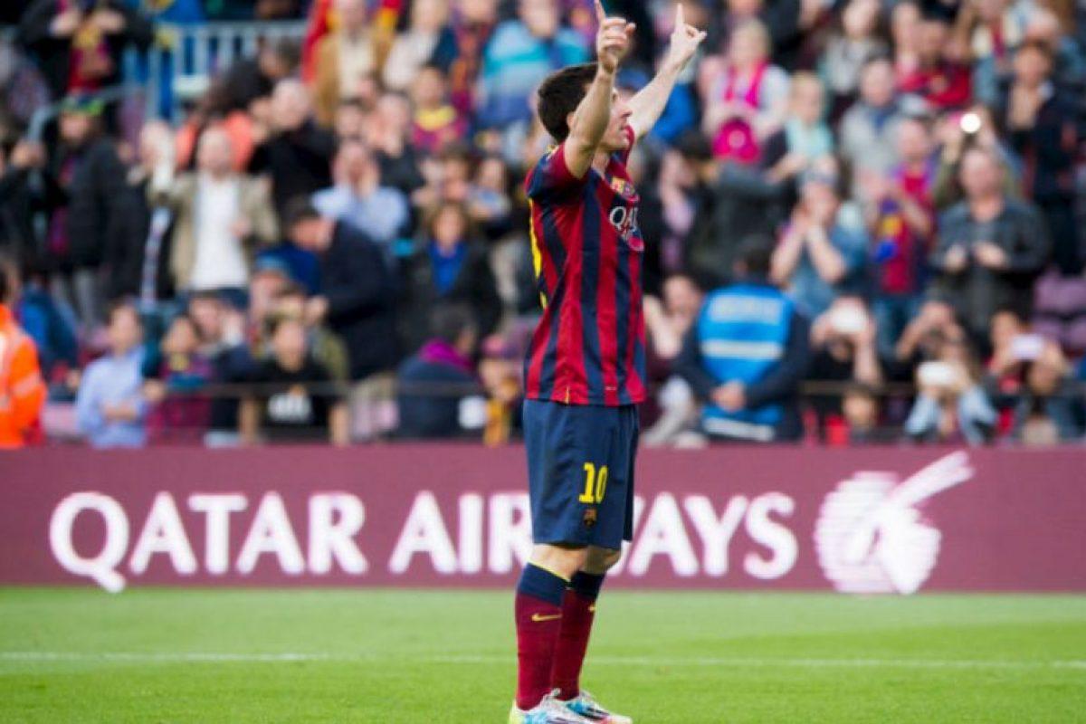 Ya es el máximo goleador histórico de Barcelona Foto:Getty Images. Imagen Por: