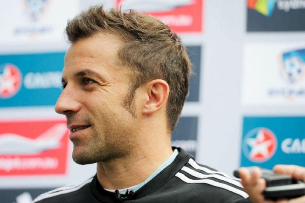 Máximo goleador de Juventus Foto:Getty Images. Imagen Por: