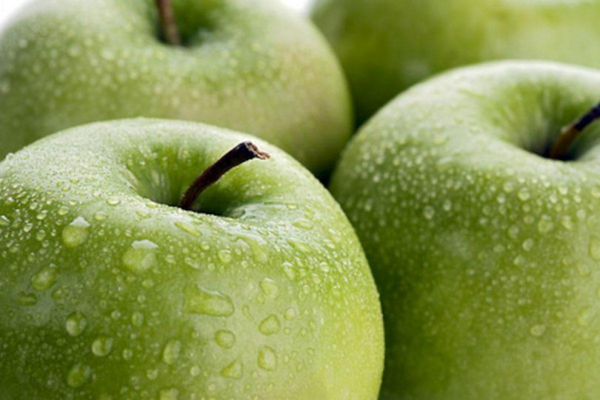 la avena con manzana verde engorda