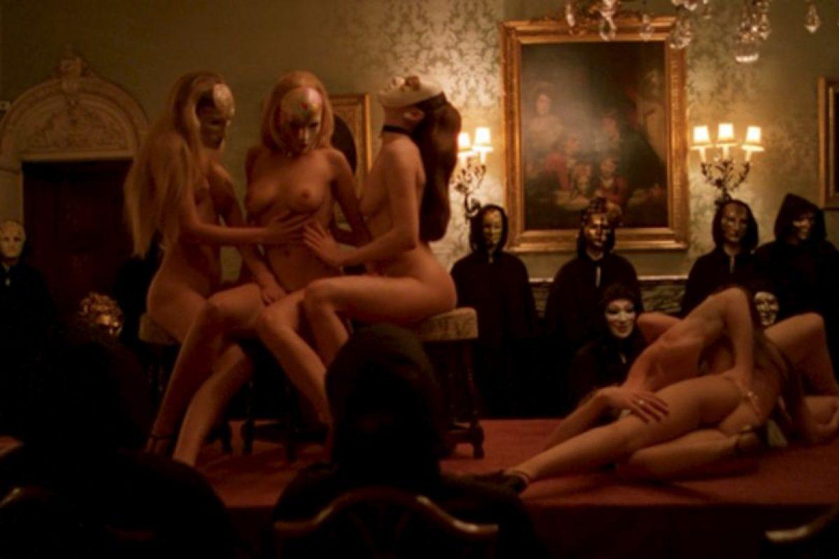 9. La fiesta sexual de 'Ojos bien cerrados'. Foto: Warner. Imagen Por: