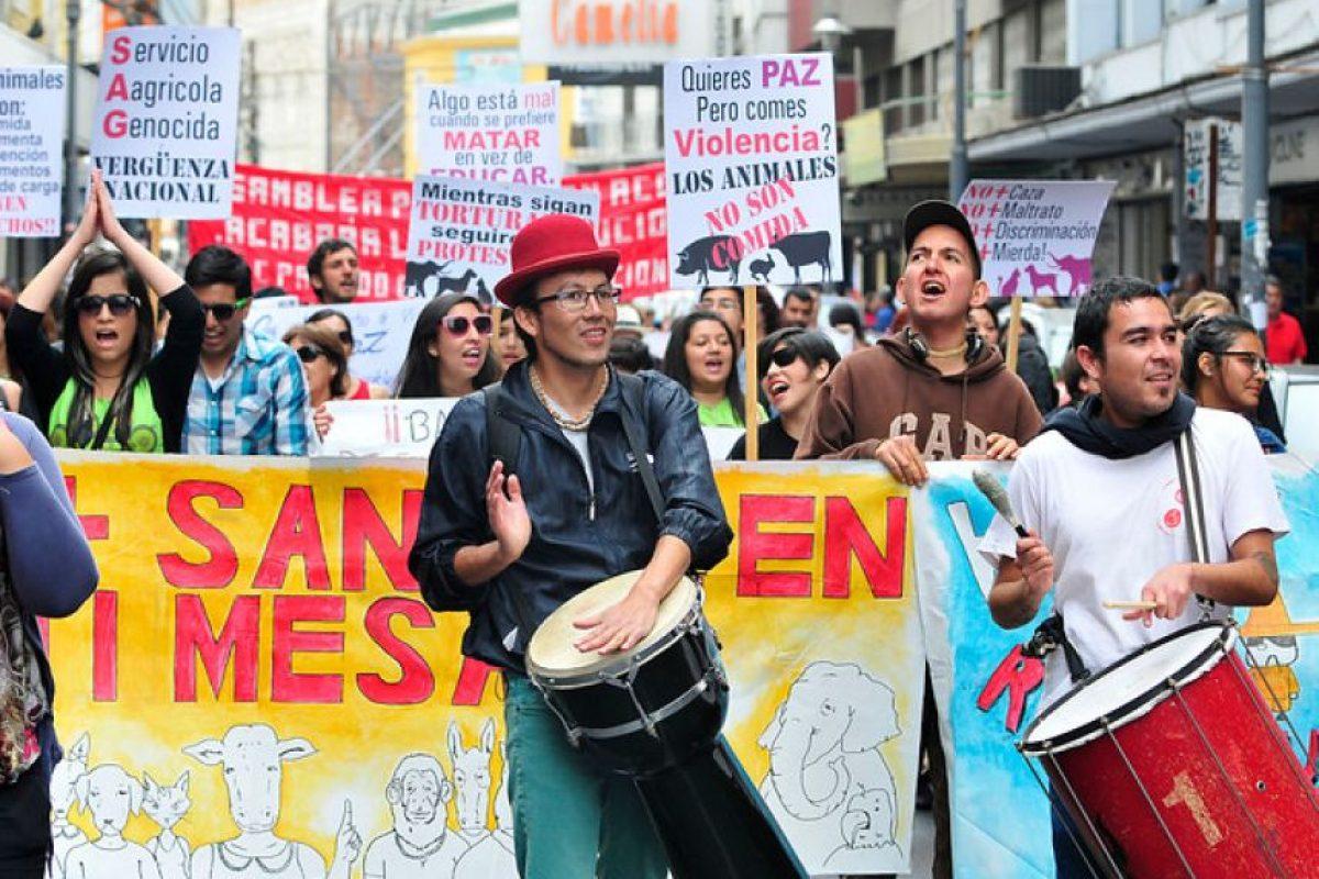 """Foto:""""La Marcha de todas las Marchas"""" Valparaiso. Imagen Por:"""
