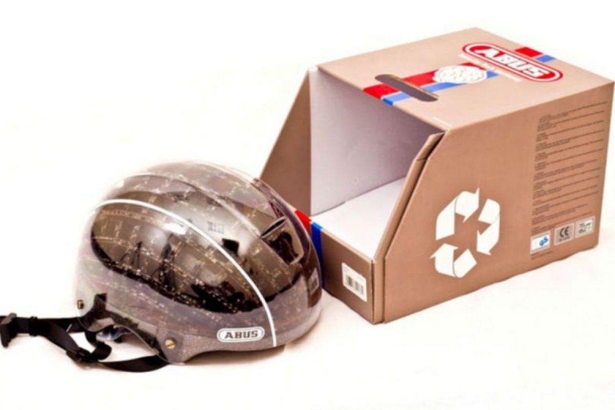 El diseño de Kranium (casco de papel), ha sido probado según los Estándares Europeos de Seguridad. Foto:Pinterest. Imagen Por:
