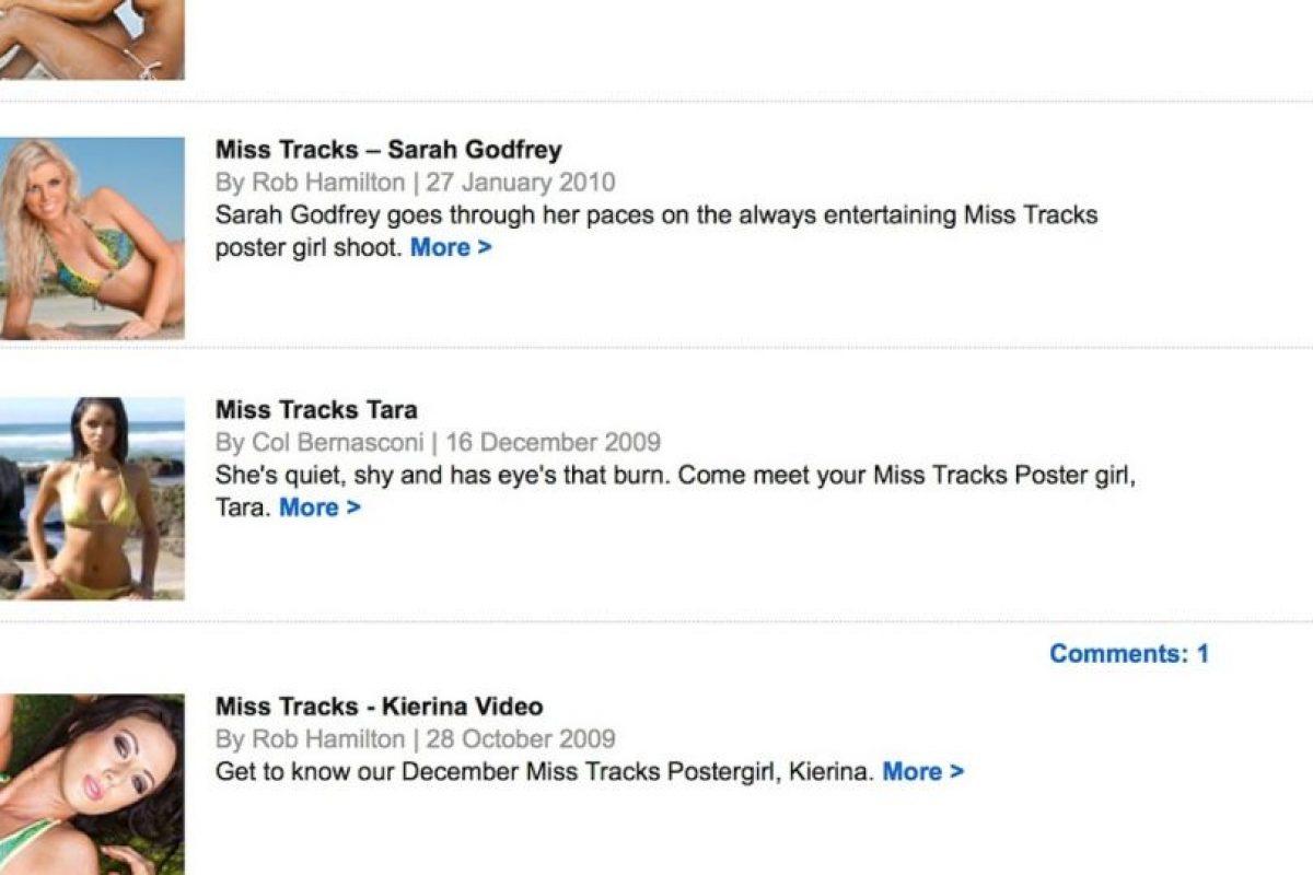 Foto:Captura de pantalla / Tracksmag.com. Imagen Por: