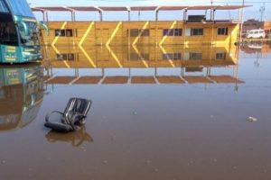 Los estragos después del tsunami Foto:AFP. Imagen Por: