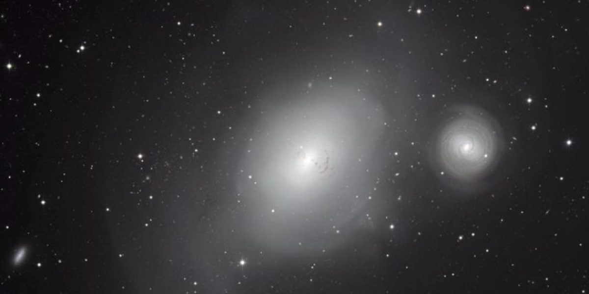 Una imagen recoge el historial de las anexiones de la galaxia de