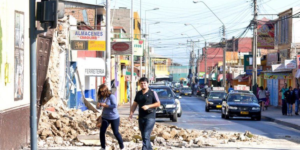 [Galeria] Casas de adobe no resistieron el terremoto en el centro de Arica