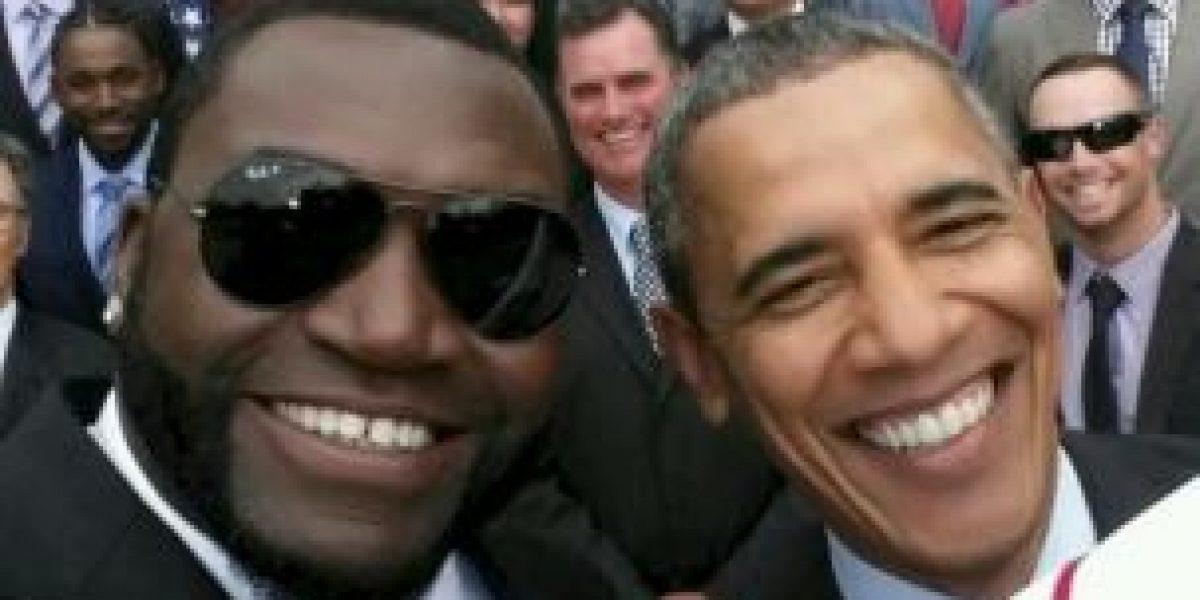 Samsung lo vuelve a hacer, ahora paga por selfie de beisbolista con Obama
