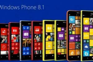 Los nuevos equipos con Windows Phone 8.1 Foto:Windows Phone. Imagen Por:
