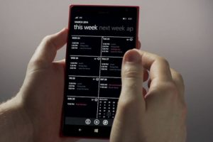 El nuevo calendario. Foto:Windows Phone. Imagen Por: