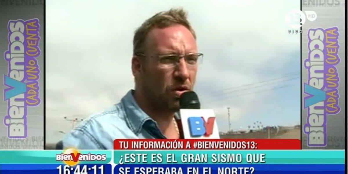 Matinales de Canal 13 y TVN realizan cobertura especial terremoto 8,2º