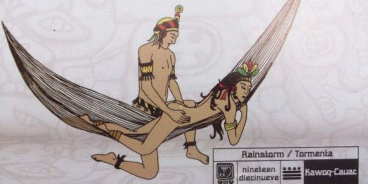 El 'Mayasutra': 60 posiciones sexuales para compartir en la hamaca