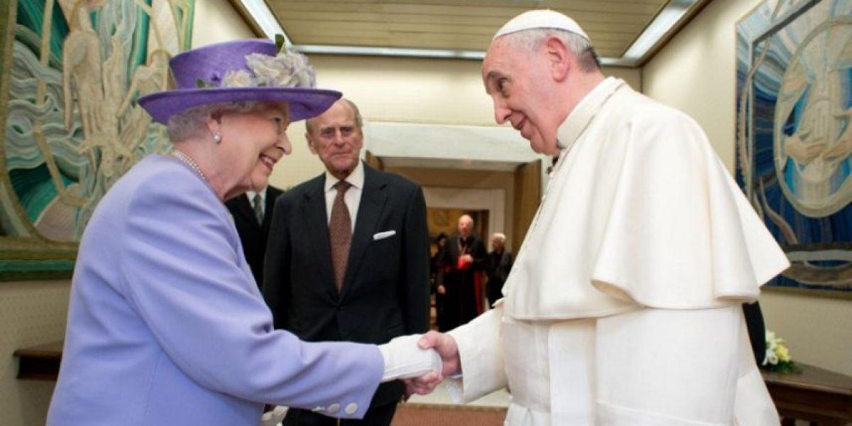 Galería: Isabel II regresa a Roma después de 14 años y se reúne con el papa Francisco