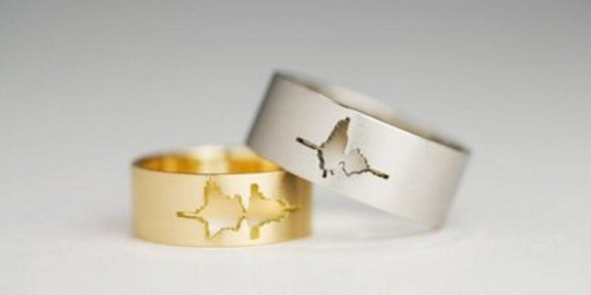 Graba la voz de tu pareja en este anillo de compromiso