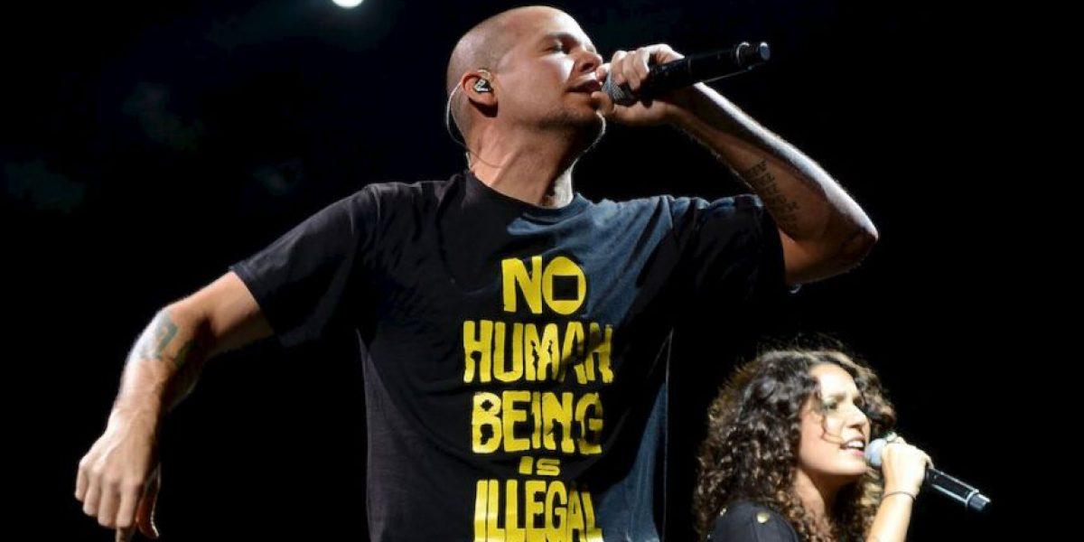 "René de Calle 13 se va a beber con fanático ""que lo ahorcaba"""