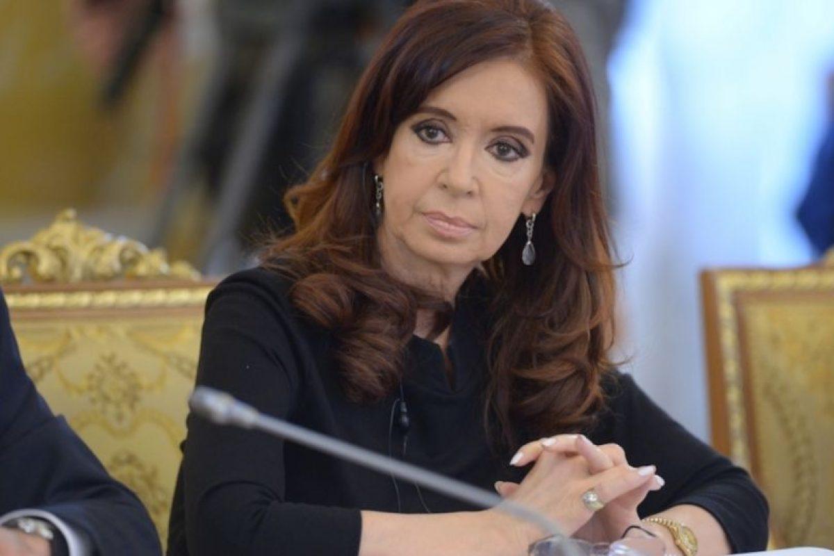 3.- Cristina Fernández (Argentina) 25% Foto:Getty Images. Imagen Por: