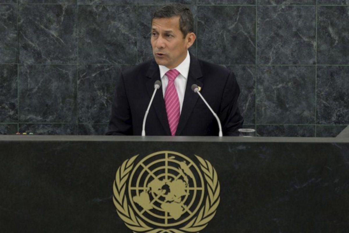 2.- Ollanta Humala (Perú) 24% Foto:Getty Images. Imagen Por: