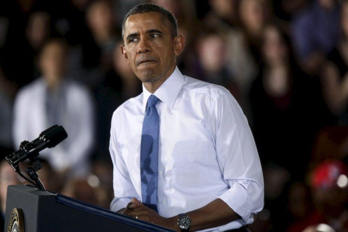 6.- Barack Obama (EU) 43% Foto:Getty Images. Imagen Por: