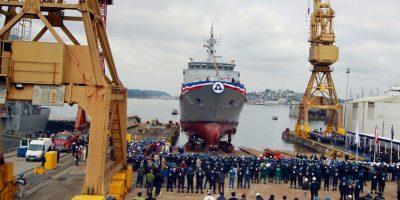 ASMAR construye y bautiza su primer buque después del 27/F