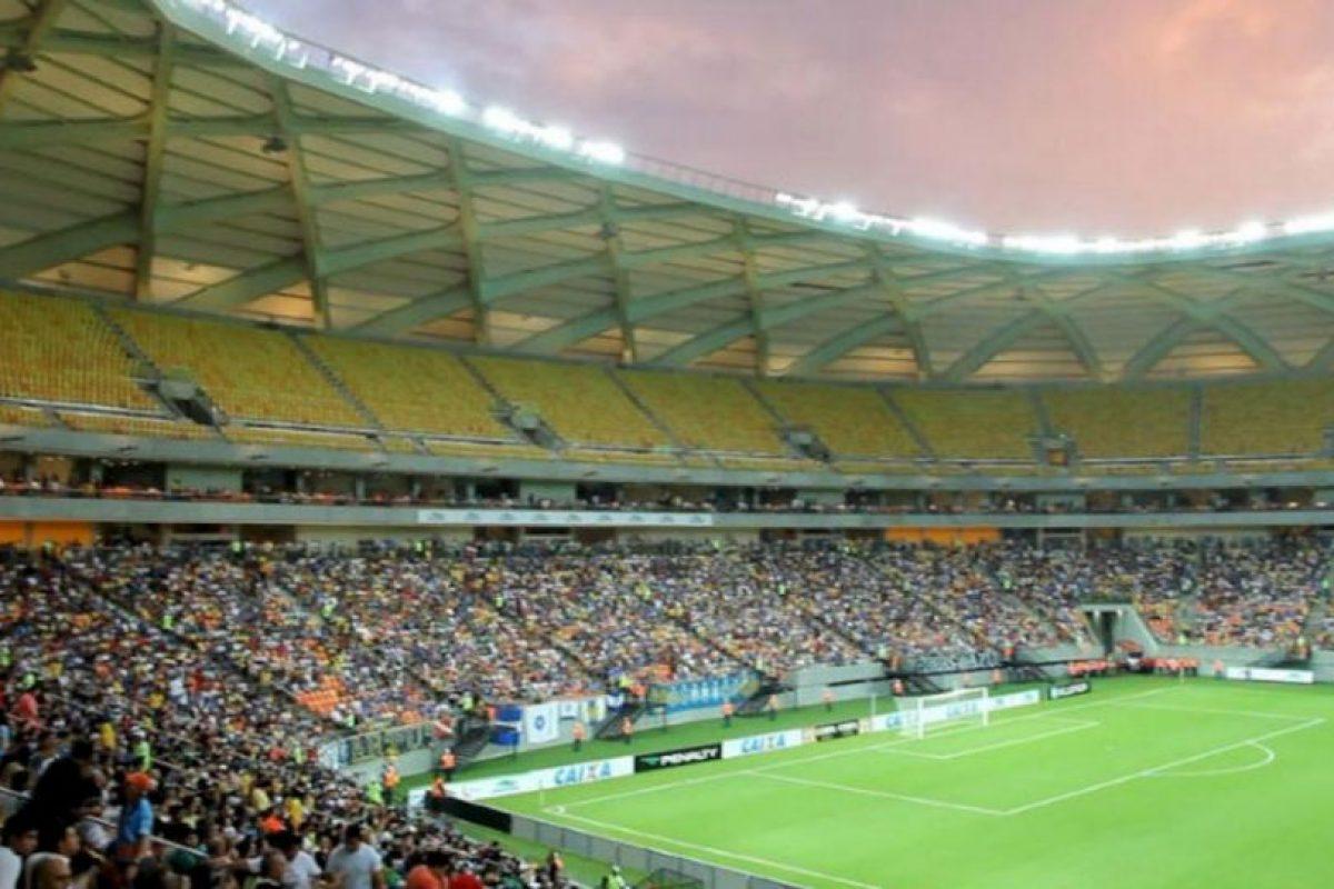 Arena de Amazonia Foto:Twitter. Imagen Por: