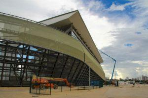 Arena Pantanal Foto:Twitter. Imagen Por: