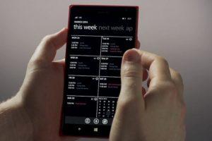 El calendario se ha modificado. Foto:Windows Phone. Imagen Por: