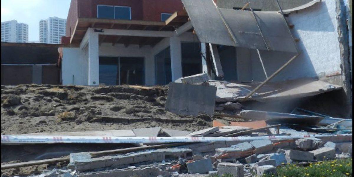 [Galeria] El terremoto dejó serios daños en las viviendas de Iquique