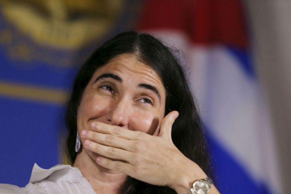 Se descubrió mediante cables de WikiLeaks, que la activista cubana Yoani Sánchez tenía estrecha relación con EU Foto:Getty Images. Imagen Por: