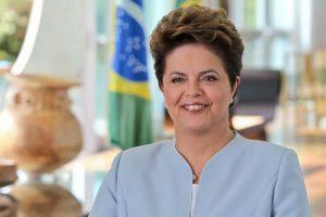 4.- Dilma Rousseff (Brasil) 38% Foto:Wikipedia Commons. Imagen Por: