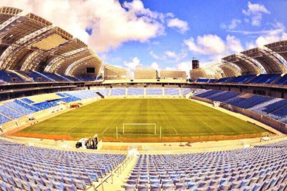 Estadio Das Dunas Foto:Twitter. Imagen Por: