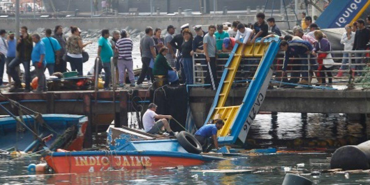 Ministro de Economía compromete ayuda a pescadores artesanales afectados por tsunami